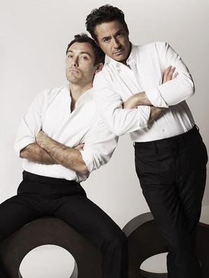 Jude Law/ Robert Downey Jr
