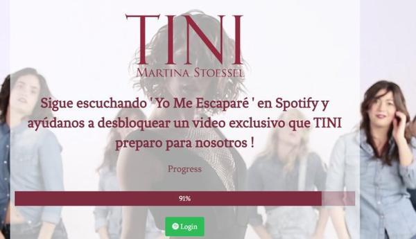 News de Tini le 10/07/2016