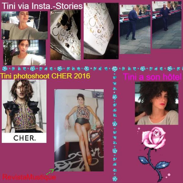 News de Tini le 26/09/2016