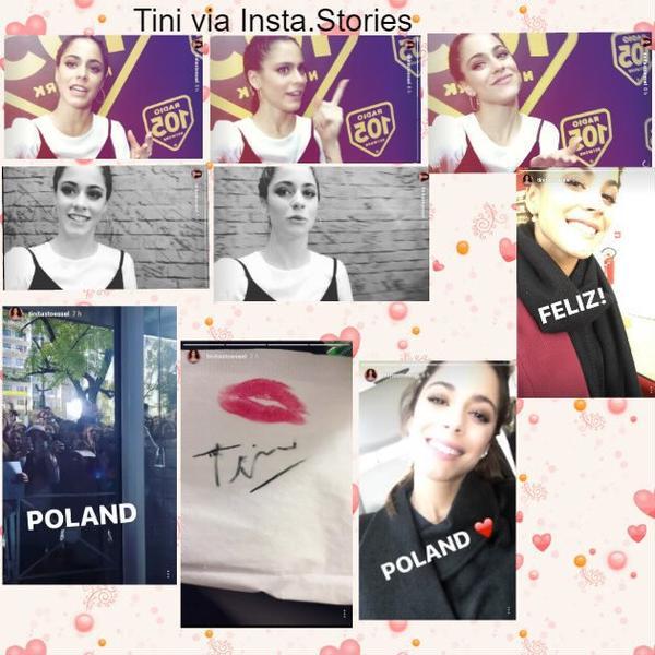 News de Tini le 13/10/2016