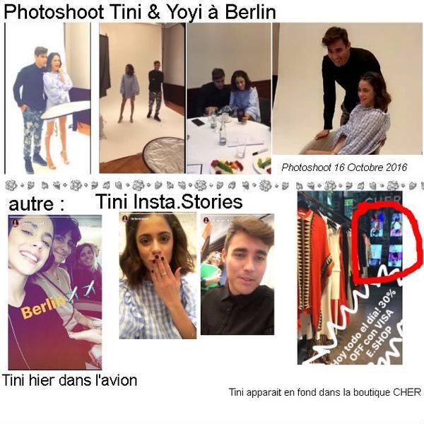 News de Tini le 16/10/2016