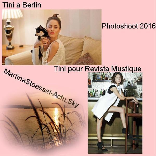 News de Tini le 19/10/2016