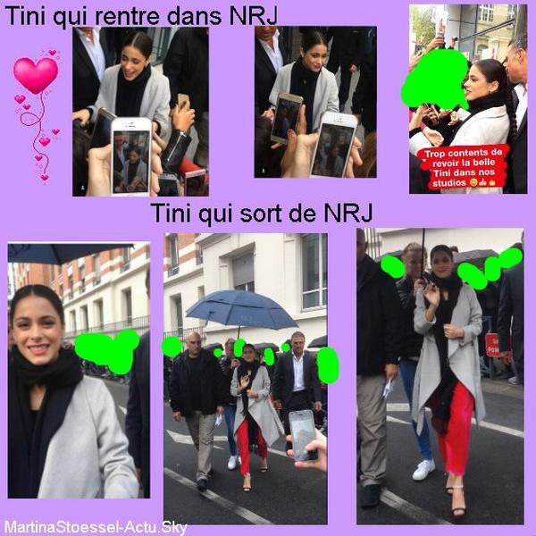 News de Tini le 20/10/2016
