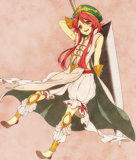 Demande d'images~ : Hakuryuu et Kouha (Magi the labyrinth of magic)