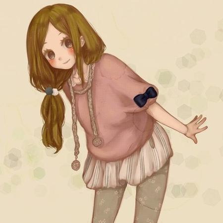 Demande d'images~ : Des filles avec les cheveux longs/mi-longs marrons.