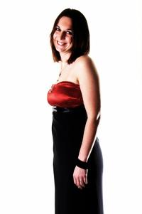 Robe de soirée avec bustier rouge créer pour le nouvel ans........Par Queenyla-Création
