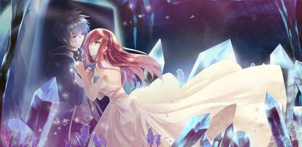 images pour concours (images de couples manga)