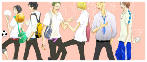 Academia One Piece : Chapitre 04