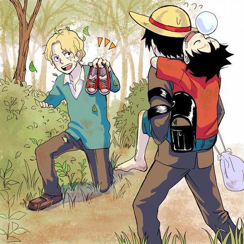 Academia One Piece : Chapitre 14