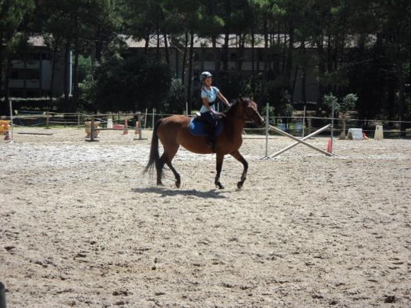 Cours d'équitation à Lacanau - Semaine 3