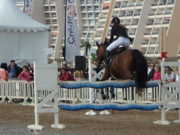 Caval'Océane 2014 - Dimanche - CSO Amateur 2 Grand Prix (1.10m)