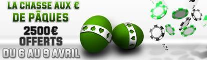 La Chasse aux ¤ de Pâques est ouverte sur Unibet Poker