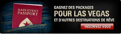 Main Event Passeport sur Pokerstars.fr