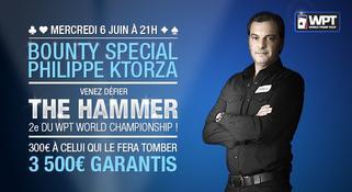 Défier Philippe Aceman Ktorza alias Le Hammer de Vegas