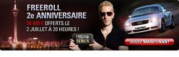 Freeroll 2em Anniversaire Pokerstars.fr