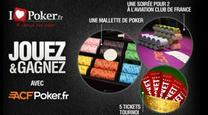 Grâce à ILovePoker.fr et ACFPoker.fr, encore des cadeaux à gagner !