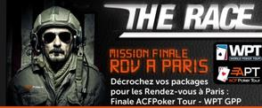 THE RACE : Mission Finale - RDV à Paris