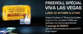 Freeroll Spécial Viva Las Vegas Le 22 Octobre