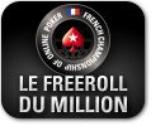 Le freeroll du Million ce Mercredi 7