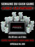 La Semaine du Cash Game