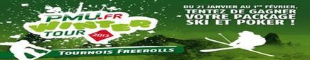 Vous aimez le ski et le poker, cette promotion est faite pour vous !