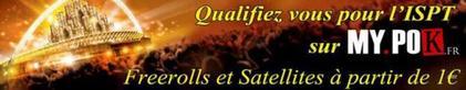 Freeroll 1000 euros ISPT ce Mardi 22 Janvier 2013