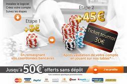 Bonus spécial – jusqu'à 50 euros offerts sur ACF.fr