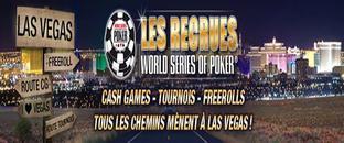 Las Vegas gratuitement avec Les Recrues WSOP
