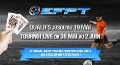 Qualifier gratuitement pour l'European Football Poker Tour