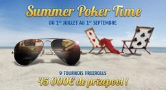Poker Time revient encore plus fort et vous promet un bel été sur PMU Poker