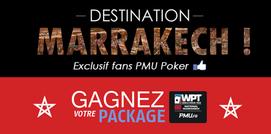 Gagnez votre package gratuitement pour le prochain WPT National Marrakech