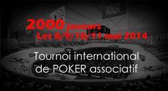 Participez au plus grand tournoi associatif gratuit jamais organisé avec le Club Poker Aveyron