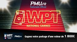 Le World Poker Tour National s'installe à Cannes