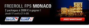 Gagnez gratuitement un des deux packages pour le Main Event  FPS MONACO