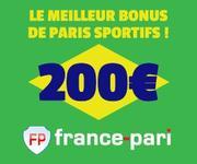 Nouveau Bonus de 200 EURO avec France-Pari