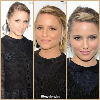 Dianna Agron au Museum of the Moving Image