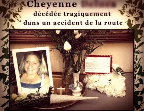 A la mémoire d'une autre CHEYENNE