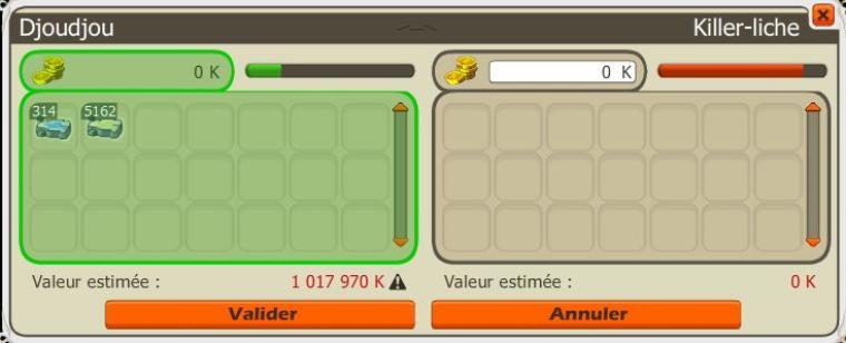 Bilan almanax +50 % d'xp métier.