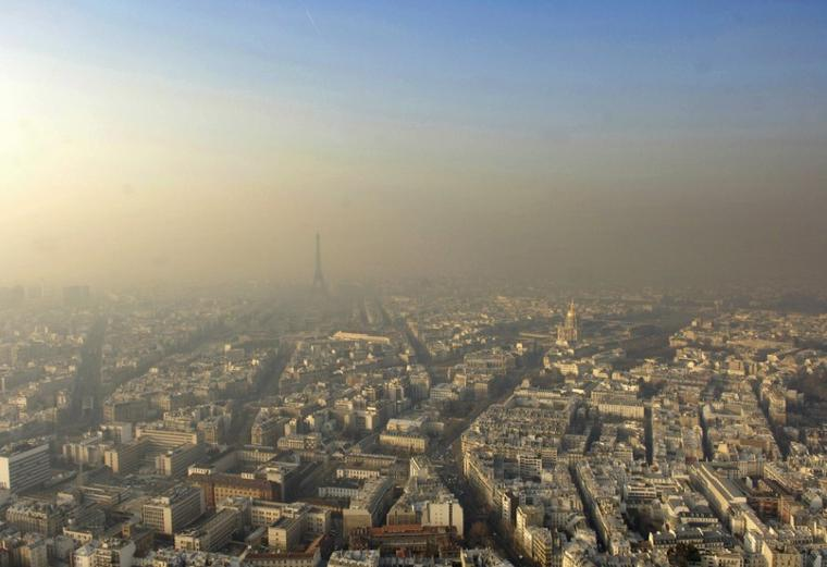 La pollution touche toute le nord de la   France