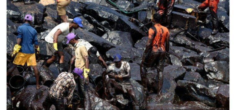 Environnement.Désastreuse marée noire au sud de l'Inde