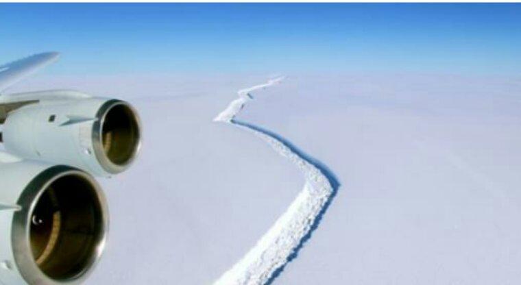 Un gigantesque iceberg va bientôt se séparer de l'Antarctique