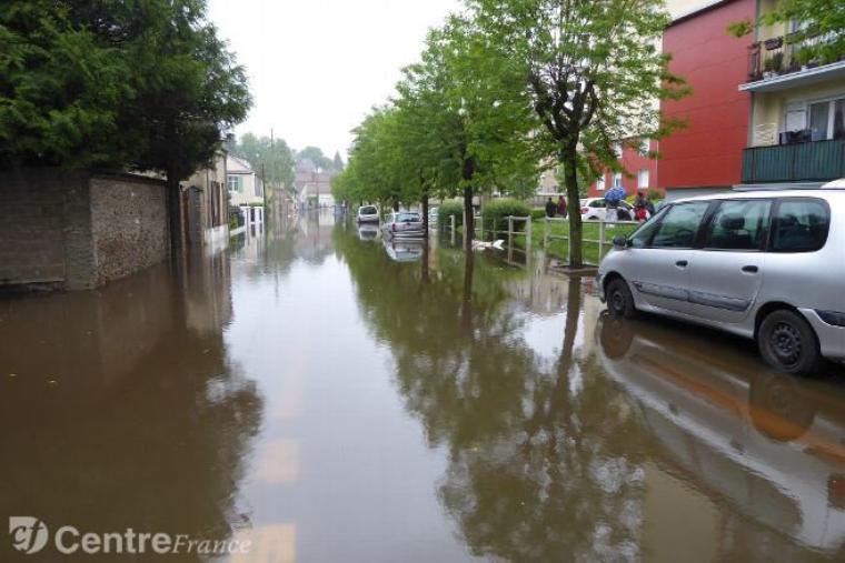 Les Pays-Bas sous les eaux