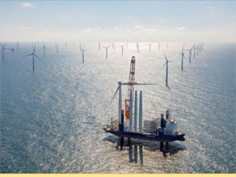 Une gigantesque ferme éolienne ouvre aux Pays-Bas