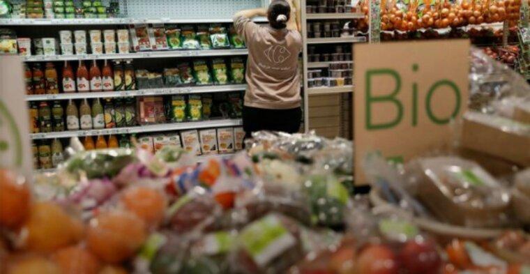 La consommation de produits bio bondit de près de 22% en 2016
