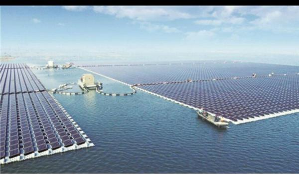 La plus grande centrale solaire électrique flottante du monde est entrée en fonction en Chine