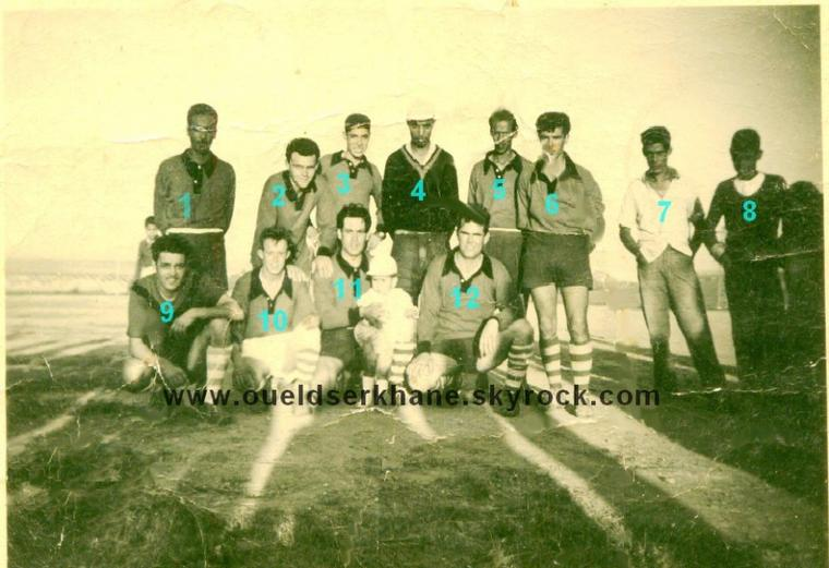 Sidi Brahim; équipe de foot de 1948