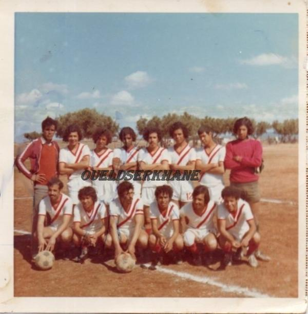 Sidi Brahim : photo ancienne de l'équipe JRBSB