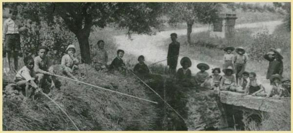 Sidi Brahim (Prudon) : Une partie de pêche à Mekerra.