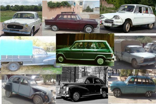 Nos parents ne possédaient pas tous de voitures, mais ceux qui en avaient, savent bien rouler.