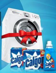 Des machines à laver offertes par Calgon !